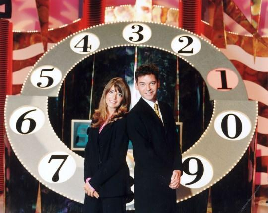 Claudia Winkleman and Phillip Schofield hosted Talking Telephone Numbers together in 1997 (Credit: ITV)