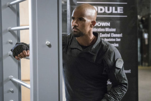 "Shemar Moore as Daniel ""Hondo"" Harrelson in <em>S.W.A.T.</em> (Photo: Monty Brinton/CBS)"