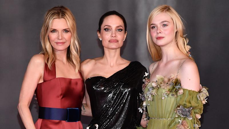The Cast of 'Maleficent: Mistress of Evil' Looked Bone-Chillingly Gorgeous at the Film's Premiere