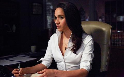 Meghan Markle as Rachel Zane  - Credit:  Shane Mahood/USA Network/NBCU Photo Bank via Getty Images