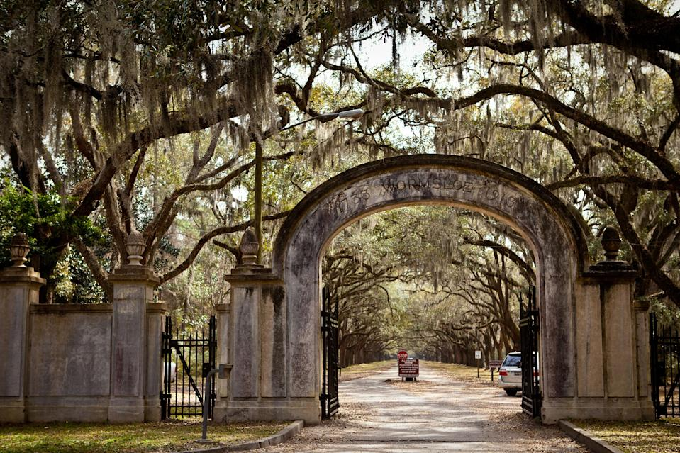 "<p><strong>Let's start big picture here.</strong> The first thing you see upon passing through the arched entrance of this Colonial-era estate is pure wedding-photo fodder, and probably the most Instagrammed image in Savannah: a 1.5-mile-long dirt allée lined by 400-some live oak trees, their gnarly branches hanging with Spanish moss. It's pure Savannah. Still, it's popular for a reason, and even pics can't do justice to the spooky, majestic beauty of this old road. There's a lot more to Wormsloe, though, including the oldest standing structure in Georgia—the tabby ruins of the estate of Noble Jones, one of the colony's early English settlers, who started laying this property out in the 1730s—and miles of beautiful hiking trails that wend their way through maritime forest and salt marsh. That's the beauty of it: Everyone clamors for photos under the oaks, so you may find yourself hiking in solitude.</p> <p><strong>Any standout features?</strong> The oak allée is the must-see—it's on the short list of must-see sights in Savannah, period—but you'll get a spectacular view of the marsh if you continue past it, and past the ruins of the old Jones estate. There's not a whole lot of the original building left, but the construction material is historically significant: tabby concrete made from lime, ash, water, and oyster shells, was popular on the southeast coast from the 16th through the 19th centuries. Kids may get a kick out of the Colonial Life Arena, just a short walk from the tabby ruins, where they might run into reenactors in 18th-century period dress.</p> <p><strong>How are the grounds as far as getting around?</strong> Wormsloe's roads and paths are mostly unpaved, but they're flat and well-maintained, and the estate is easy enough to get around. A map comes with admission, signage is clear and helpful, and the oak allée is drivable. There are benches and plenty of good spots to picnic. Short walking tours leave four times a day from a small museum near the parking area, which also provides an intro to the rich history of the estate. Leashed dogs are allowed, except inside the buildings.</p> <p><strong>All said and done, what is this best for?</strong> Depending on your interest in history and/or hiking, Wormsloe doesn't need to be a huge time commitment; many folks come out, get their snaps of the oak avenue, and move on to the next thing. The site is about a 15-minute drive from downtown Savannah; you might combine it with a trip to Skidaway Island State Park or the <a href=""https://www.cntraveler.com/activities/savannah/pin-point-heritage-museum?mbid=synd_yahoo_rss"" rel=""nofollow noopener"" target=""_blank"" data-ylk=""slk:Pin Point Heritage Museum"" class=""link rapid-noclick-resp"">Pin Point Heritage Museum</a>. Another idea: a picnic. If you're coming from downtown, pick up sandwiches at the Grey Market, or stop on the way for some of Savannah's best barbecue at Sandfly Barbecue, just a stone's throw from the Wormsloe gates.</p>"