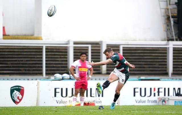 George Ford in action for Leicester