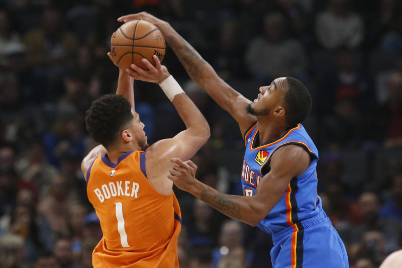 Thunder get 32 points from Gilgeous-Alexander, beat Suns