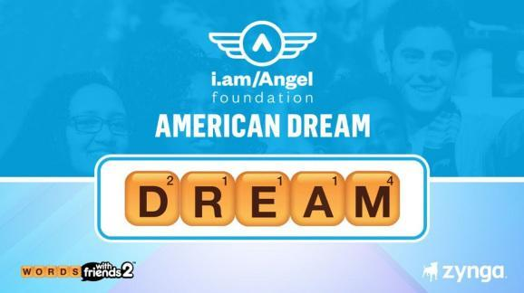 Zynga partnered with will.i.am and the i.am Angel Foundation to raise $5 million.