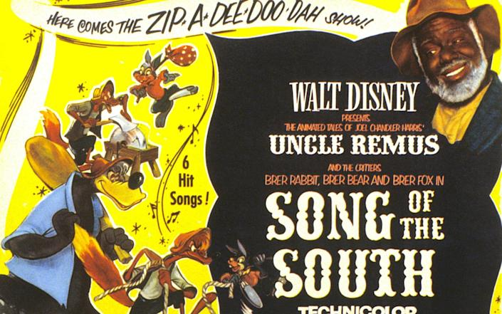 Disney's long-buried Jim Crow movie Song of the South - Alamy
