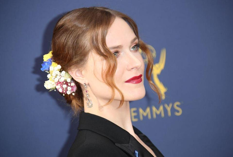 Evan Rachel Wood has opened up about her experiences of self-harm while she was in an abusive relationship [Photo: Getty]