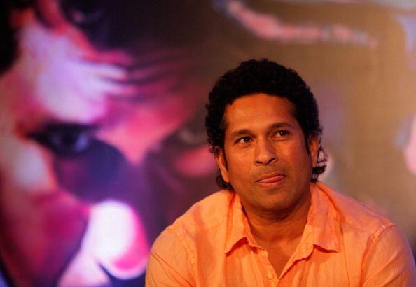 Sachin Tendulkar Unveils The Collector's Edition Silver Coin