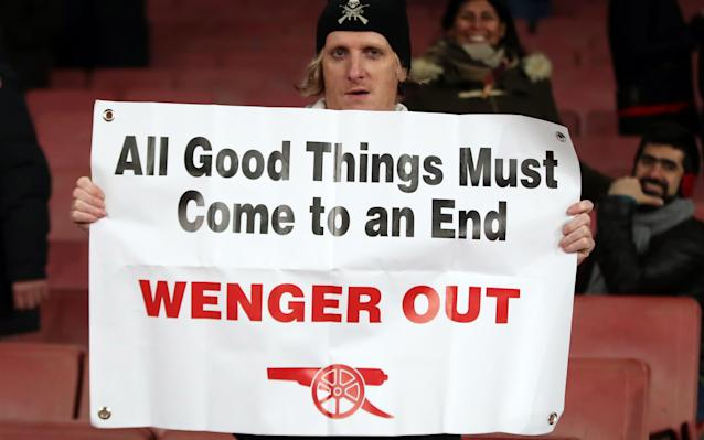 <span>Arsenal supporters will not decide whether Wenger stays or goes</span>