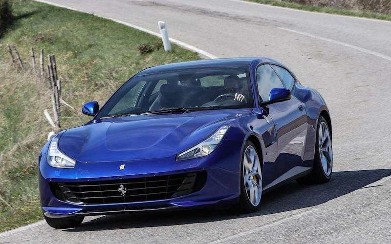 Ferrari GTC4Lusso T (V8 twin-turbo version)