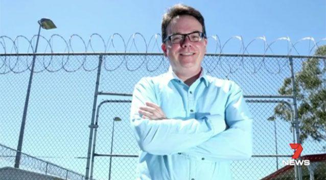 New Punchbowl Boys' High principal Robert Patruno has vowed to teach his students traditional Australian values of tolerance and respect. Picture: 7 News