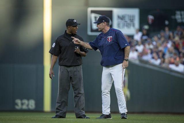 Paul Molitor ran into some issues Tuesday night. (AP Photo)