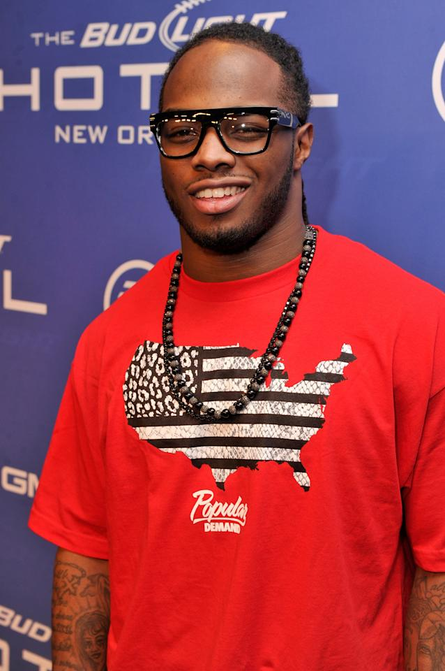 NEW ORLEANS, LA - FEBRUARY 02:  NFL player Trent Richardson of the Cleveland Browns attends Bud Light Presents Stevie Wonder and Gary Clark Jr. at the Bud Light Hotel on February 2, 2013 in New Orleans, Louisiana.  (Photo by Stephen Lovekin/Getty Images for Bud Light)