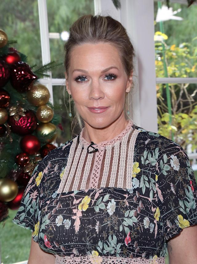 Jennie Garth in Hollywood in November. (Photo: David Livingston/Getty Images)