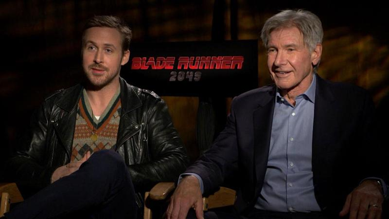 1f890baaea6 EXCLUSIVE: Harrison Ford Reveals Which of Ryan Gosling's Films He Most  Admires -- And It's Not 'The Notebook!'