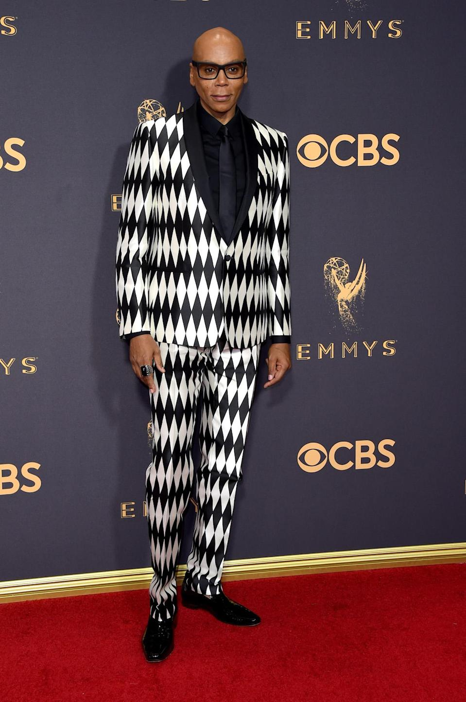 <p>RuPaul attends the 69th Primetime Emmy Awards on Sept. 17, 2017.<br> (Photo: Getty Images) </p>