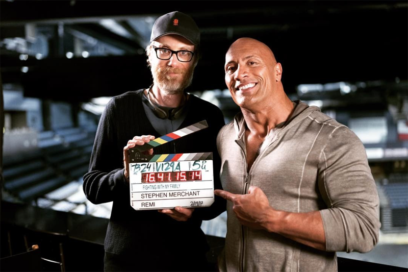 <p>'Tooth Fairy' reunion, anyone? Clearly a loyal guy, Johnson gets back in the ring with Stephen Merchant, who this time writes and directs, in a comedy about a family of small time British wrestlers with dreams of the big time; doubtless something the artist formerly known as The Rock can relate to. Nick Frost, Lena Heady and Vince Vaughn also star, and it's due sometime in 2018. (Picture credit: Dwayne Johnson's Instagram) </p>