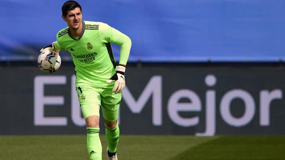 Courtois, portiere del Real Madrid | Angel Martinez/Getty Images