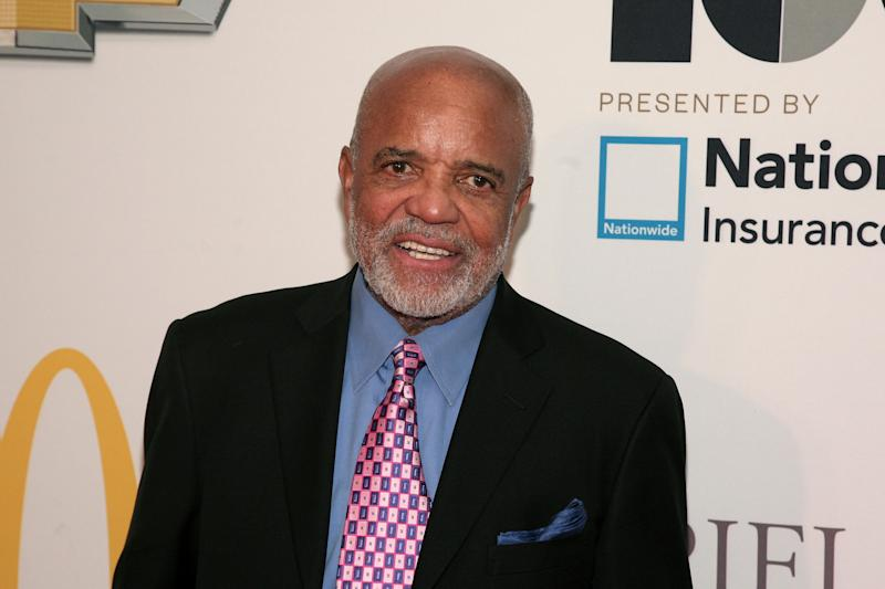 Berry Gordy Jr., founder of Motown Records, attends the Ebony Power 100 Gala, on Monday, Nov. 4, 2013, in New York. (Photo by Andy Kropa/Invision/AP)