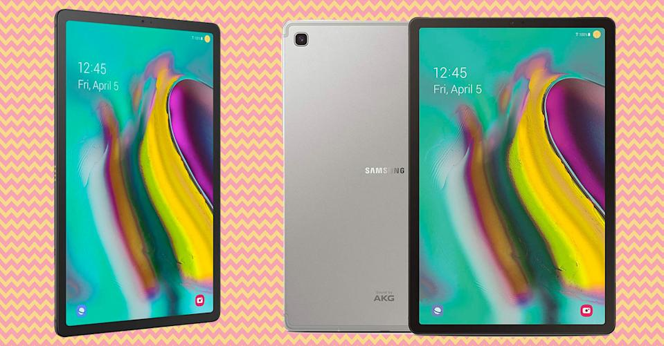 Unlocked Samsung Galaxy Tab S5e tablets are on sale all day at Amazon (Photo: Amazon)
