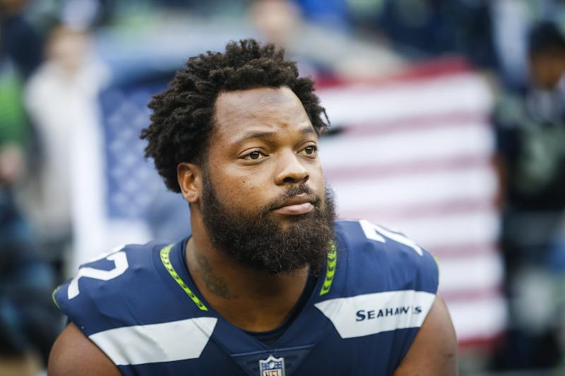 Michael Bennett says Colin Kaepernick is worthy of a job in the NFL. (Getty)