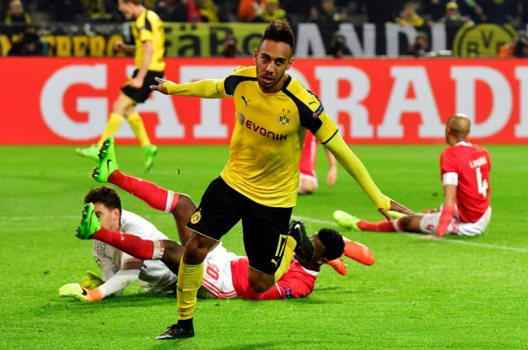 Pierre-Emerick Aubameyang has scored seven times in his last three games for Borussia Dortmund