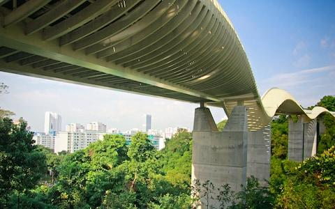henderson waves bridge, singapore - Credit: WEESEN PHOTOS