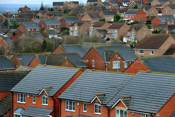 File photo dated 05/01/14 of houses in Derbyshire as house sellers are achieving 96.2% of their asking price typically, marking the highest proportion seen in a decade as buyers chase a scarce supply of homes, property analyst Hometrack has found. PRESS ASSOCIATION Photo. Issue date: Monday March 31, 2014. In London, sellers are getting around 99.3% of their asking price and across every region the figure is above 93%, pointing to further price rises, the report for the month of March said. Across England and Wales, the length of time properties are typically spending on the market before being snapped up has dropped to just under eight weeks for the first time since 2007, while homes in London are taking just over two and a half weeks on average to sell. House prices increased by 0.6% month-on-month in March, which is slightly down on a 0.7% rise in February, although for the second month in a row half of postcodes across the country reported rising property values. Prices rose by 0.2% in Yorkshire and Humberside and the North West, by 0.3% in the West Midlands and the North East, by 0.4% in the East Midlands, by 0.6% in Wales, by 0.7% in the South East and London and by 0.8% in the South West and East Anglia. See PA story MONEY House. Photo credit should read: Rui Vieira/PA Wire