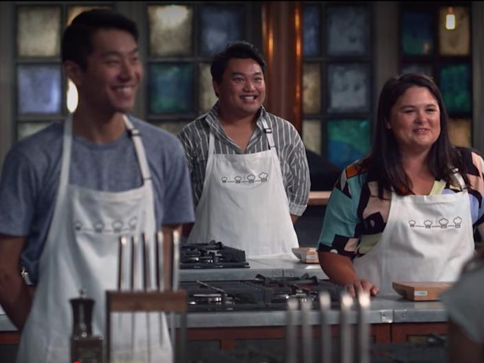 """""""The Chefs' Line"""" is another Australian series."""