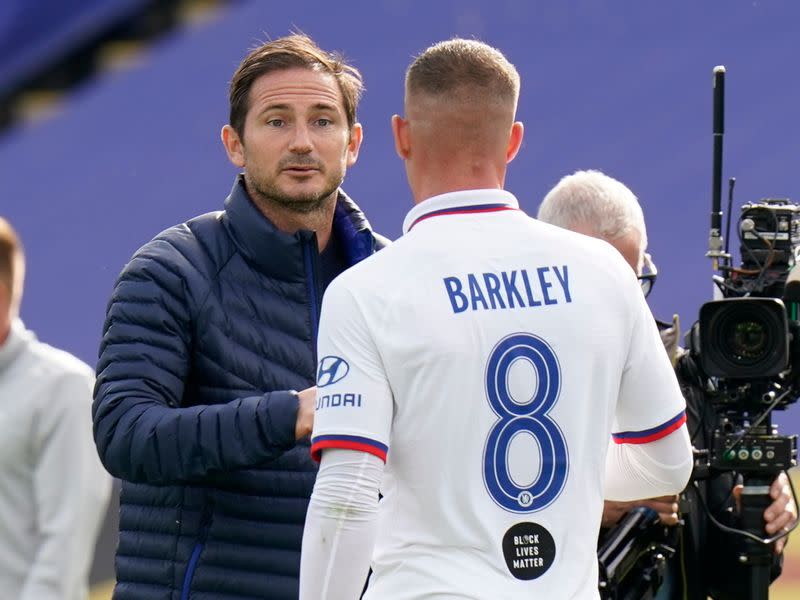 Lampard shows ruthless streak as Chelsea youngsters hauled off
