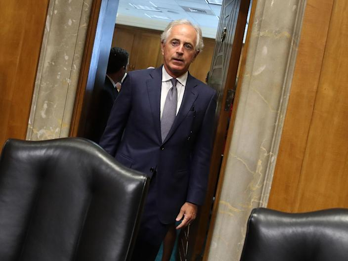Republican Senator Bob Corker, Chairman of the Senate's Foreign Relations Committee: Getty Images