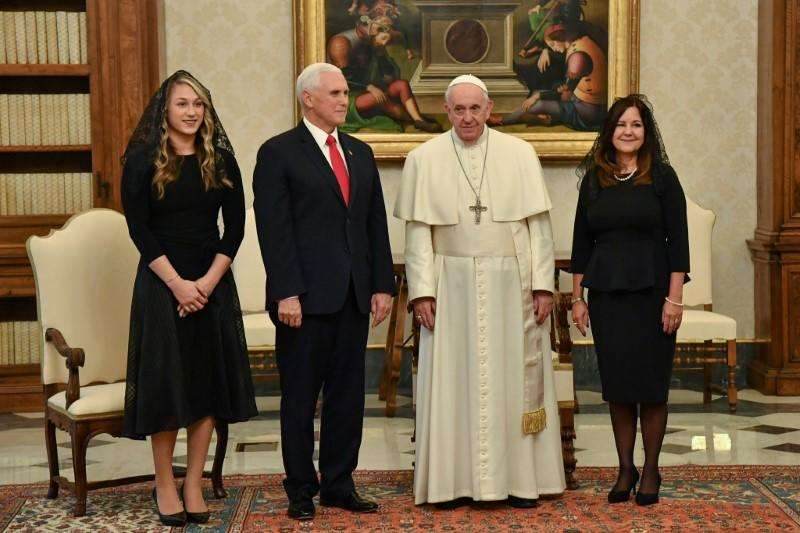 American VP Pence to Pope Francis: 'You have made me a hero'