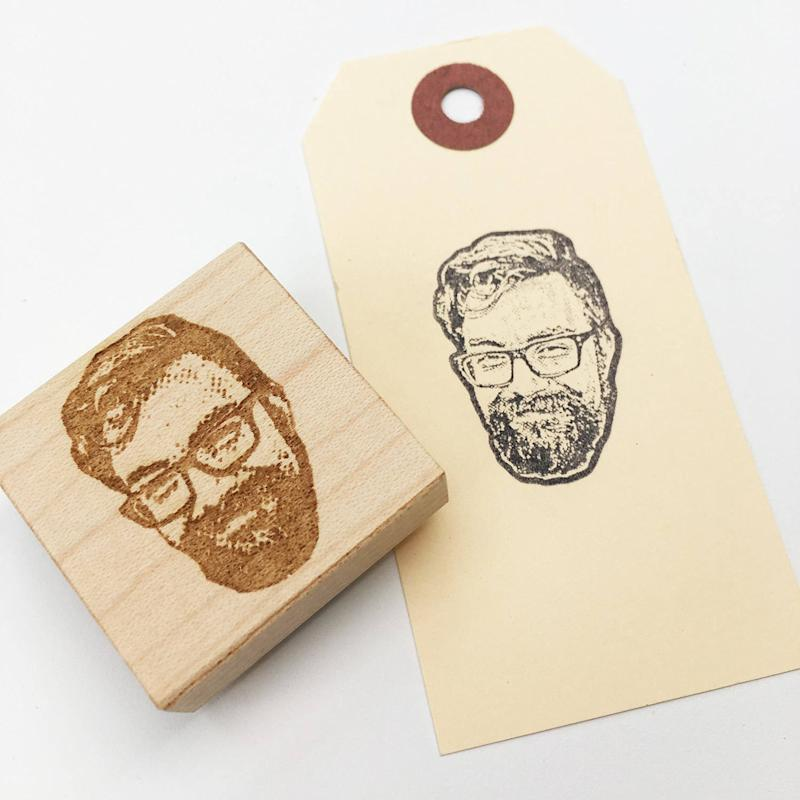 Stamplifier Custom Portrait Rubber Stamp