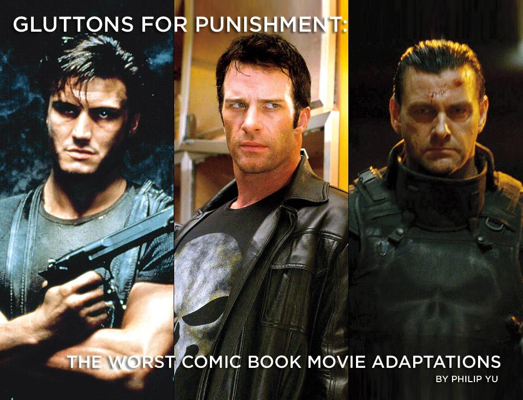 """There have been two previous attempts at adapting Marvel Comics' vigilante-hero The Punisher for the big screen. Both were fairly awful. With <a href=""""http://movies.yahoo.com/holiday-movies/Punisher-War-Zone/1809961146"""">Punisher: War Zone</a> hitting theaters this weekend, could the third time be the charm for Frank Castle and his one-man war on crime? Or will this movie join the ranks of the worst comic book movie adaptations of all time?"""