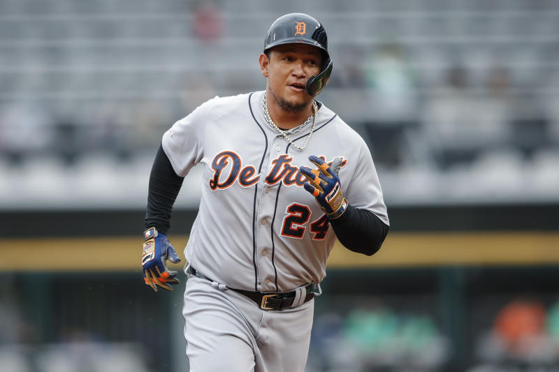 Tigers' Cabrera arrives with something to prove