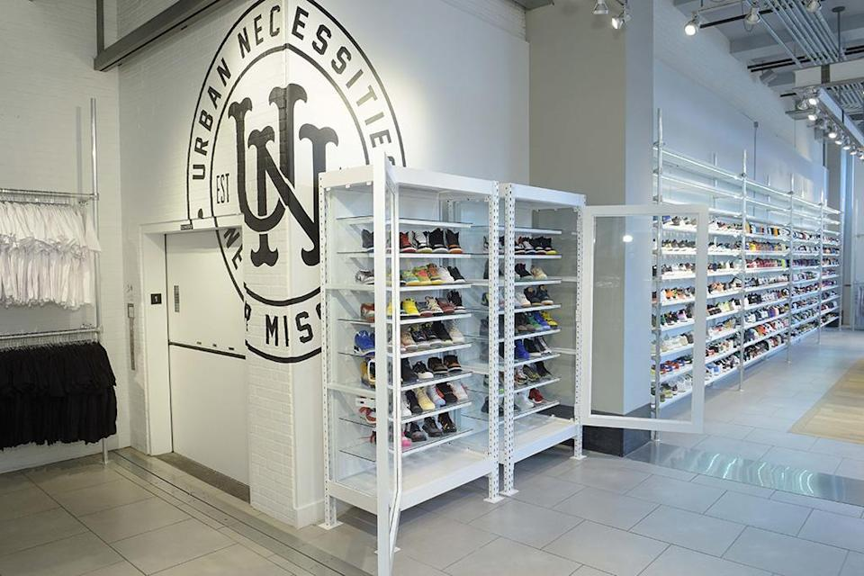 A look inside the new Urban Necessities store in NYC. - Credit: Urban Necessities