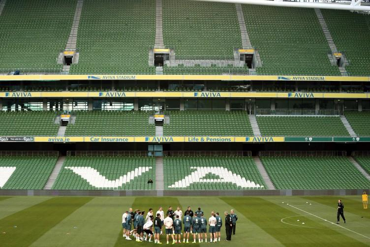Empty seats, empty feeling as Ireland draw line under grim campaign