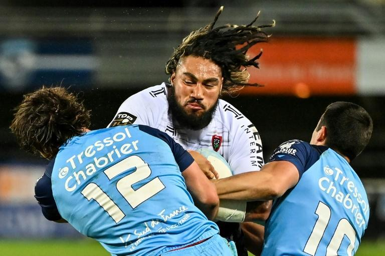 Toulon's former New Zealand centre Ma'a Nonu was unable to stop the loss at Montpellier
