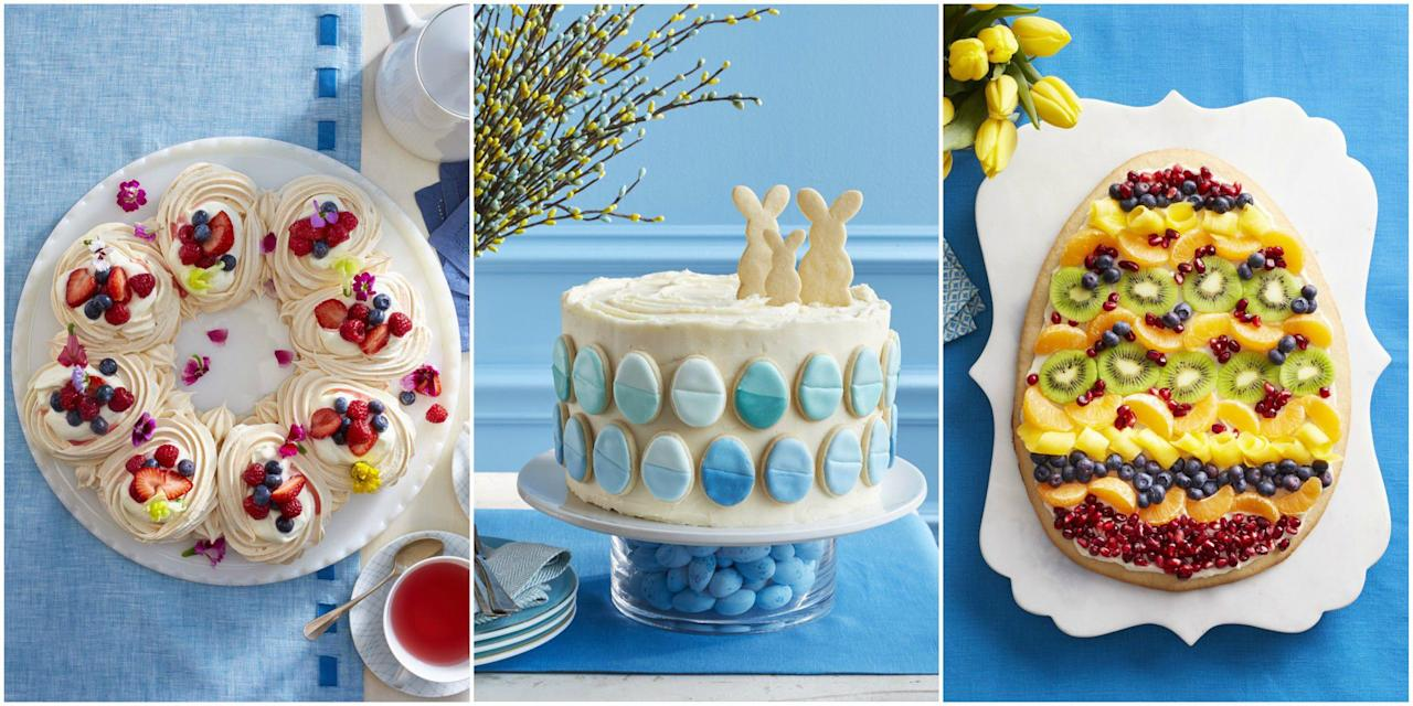 "<p>Enjoy this beautiful spring holiday by baking wonderful sweets for your family and friends. For even more holiday fun, check out our <a rel=""nofollow"" href=""http://www.womansday.com/food-recipes/food-drinks/g2201/easter-candy/"">Easter candy</a> and <a rel=""nofollow"" href=""http://www.womansday.com/food-recipes/g2887/easter-cupcakes/"">Easter cupcake ideas</a>. </p>"