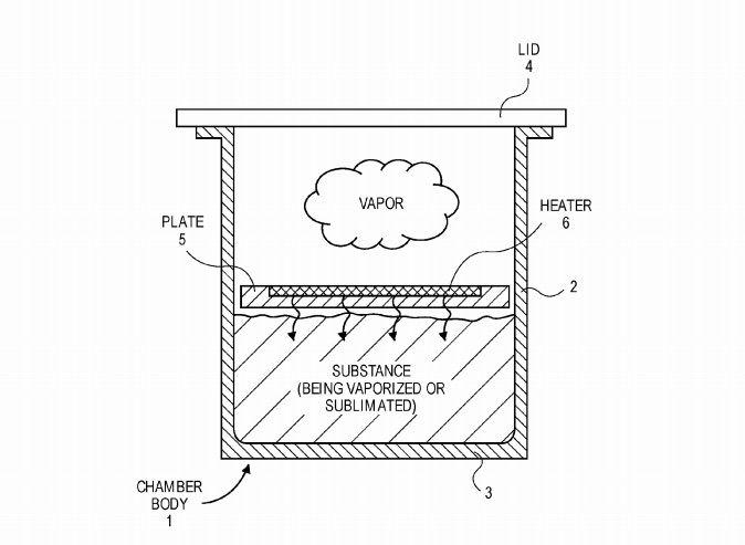 Apple appears to have patented a vapouriser, and we don't know why