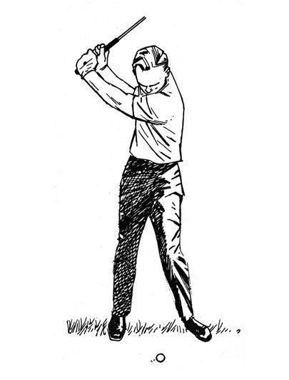 <p>Try to keep the club under control at all times, especially at the top of the backswing. Each of us has physical limits. We can take the club back just so far. You've got to keep the backswing compact and well within your natural capabilities. Because the minute you're stretching yourself as you swing back, the minute you're fighting the weight of the club instead of remaining easily in control of it, you've swung too far. When you go too far, one of two things happens: You bend your left elbow, or the grip gets loose in your hands. Either way, you're lost.</p> <p><strong>WHAT I THINK TODAY</strong><br> Long and loose is still a bad idea. There aren't very many good players like John Daly.</p>
