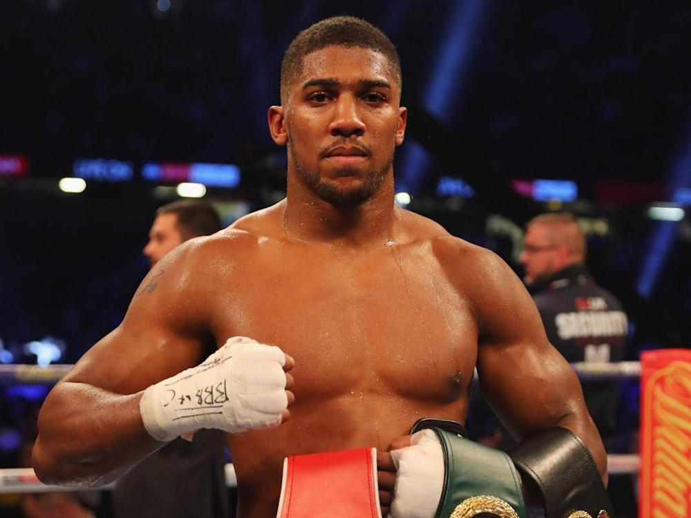 Joshua wants to unify the heavyweight division (Getty )