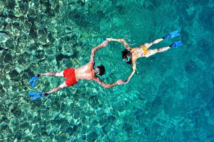 <p>Bikinis are available for men as well, except the term is broadly used to to describe swim briefs. Men's bikinis can have high or low side panels, and string sides or tie sides. </p>