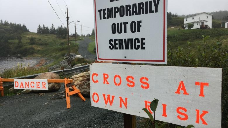Ferryland residents angry over long wait for bridge fix