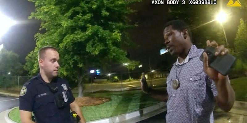 The Atlanta Police Department has released officer bodycam and dashcam video of the events leading up to the fatal shooting of Rayshard Brooks. (Atlanta Police Department)
