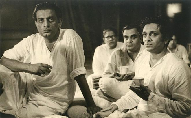 Satyajit Ray and Pandit Ravi Shankar