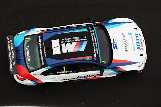 Turkington leads title rival Cammish in practice