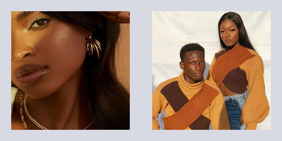 """<p>Before you make your next fashion purchase, let me introduce you to a few super cool brands you should <em>really</em> be acquainted with. These Black fashion designers are changing the game daily, by bringing their creative visions to life on bodies across the globe. In doing this, they're paving the way for Black-owned brands of the future to have the same opportunities in the fashion world. From collaboration with African artisans to keeping ancient art forms alive, these designers are constantly acting as innovators–both inside and out of the fashion world.</p><p>Whether you've been living in your <a href=""""https://www.seventeen.com/fashion/style-advice/g708/cute-jogger-sweatpants/"""" rel=""""nofollow noopener"""" target=""""_blank"""" data-ylk=""""slk:favorite sweatpants"""" class=""""link rapid-noclick-resp"""">favorite sweatpants</a> or have stayed on top of <a href=""""https://www.seventeen.com/fashion/trends/g34932759/fashion-trends-2021/"""" rel=""""nofollow noopener"""" target=""""_blank"""" data-ylk=""""slk:2021's big trends"""" class=""""link rapid-noclick-resp"""">2021's big trends</a>, you can stay true to your aesthetic, while still supporting a Black creative. Please excuse me while I search for my debit card...<br></p>"""