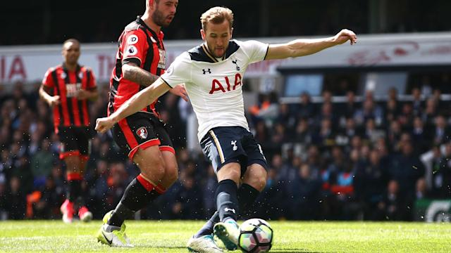 Tottenham moved to within four points of Premier League leaders Chelsea with a straightforward 4-0 win over Bournemouth at White Hart Lane.