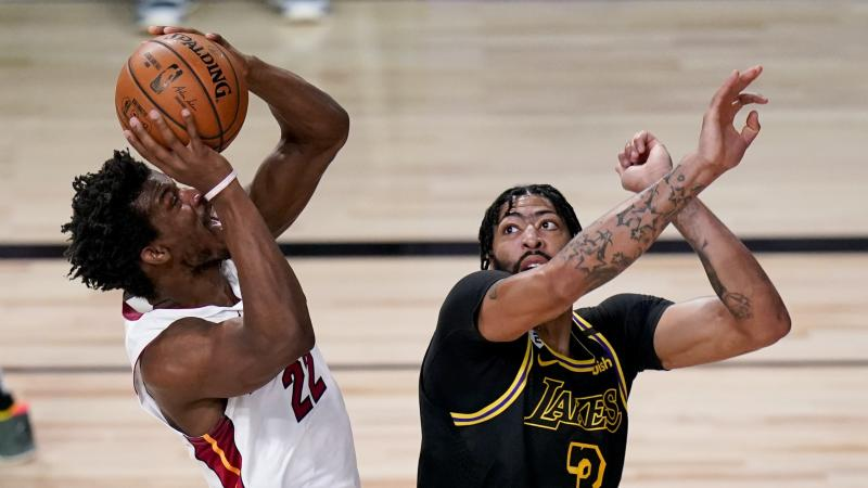 LA Lakers made to wait after Miami Heat clinch win