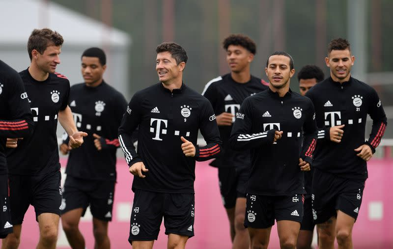 Mighty Bayern to pick up where they left off last season
